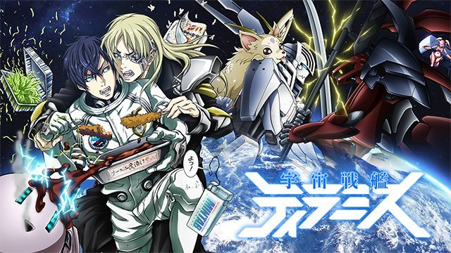 Space Battleship Tiramisu – Anime Review